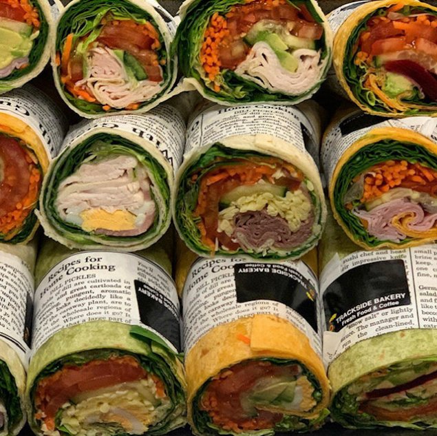 Gourmet Lunch Wraps